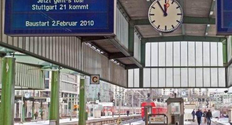 """""""Die Stadt braucht einen effizienten Bahnhof"""""""
