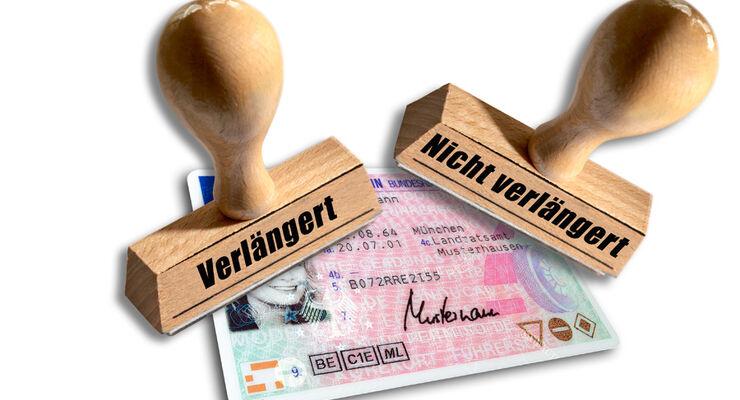 Stempel, Führerschein, Fahrerlaubnis