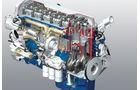 Volvo FH 500 Volvo FM 410, Motorenzeichnung