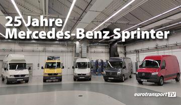 eurotransportTV Sondersendung: 25 Jahre Mercedes-Benz Sprinter