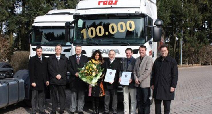 100.000 Scanias für Deutschland