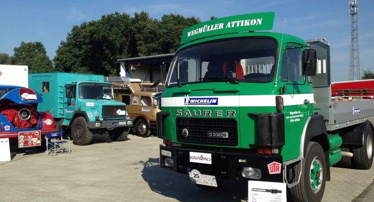 15. Deutschlandfahrt für historische Nutzfahrzeuge