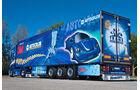 3M-Truck von Trio-Trans, Supertruck, Scania, Heck