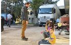 4. Daimler-Hilfskonvoi, zum 3. Mal in die Osttürkei mit Hilfsgütern für syrische Flüchtlinge.