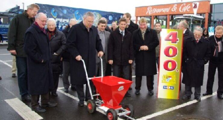 400 neue Lkw-Stellplätze in Bayern