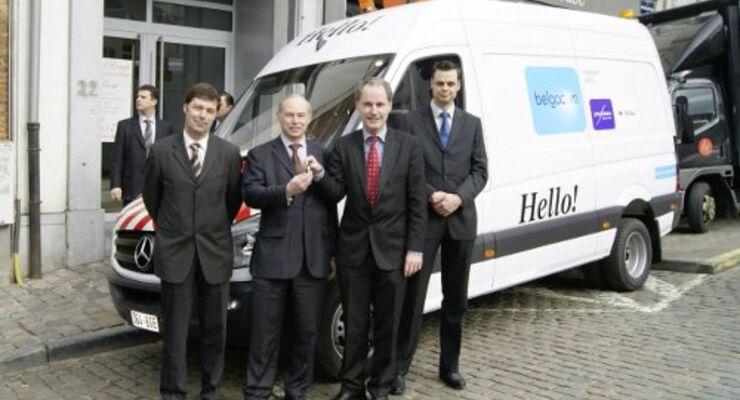 600 Sprinter gehen an belgische Firma