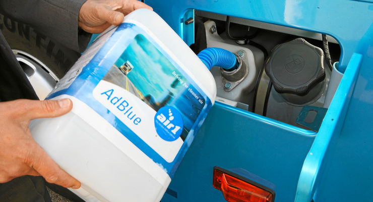 Adblue-Sanktionsmechanismus