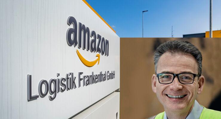 Amazon-Logistikchef Bernd Gschaider