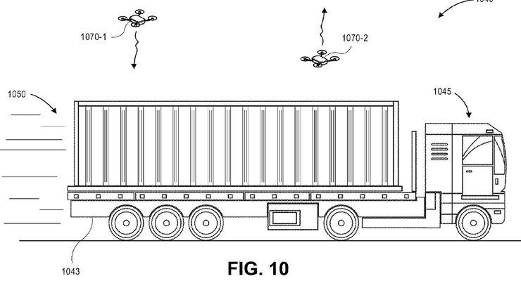 Amazons Drohnen-Patent