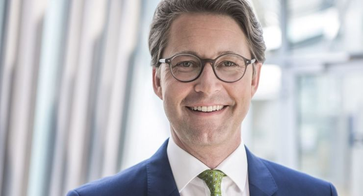 Andreas Scheuer, CSU, Bundesverkehrsminister, BMVI