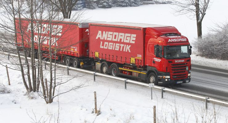 Ansorge-Logistik, Lang-Lkw, 2012, Regelbetrieb, Winter