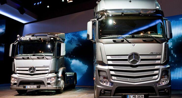 Antos, Actros, IAA, 2012, Daimler