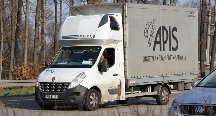 Apis, Logistik, Transporter, Sachsen, Osteuropa