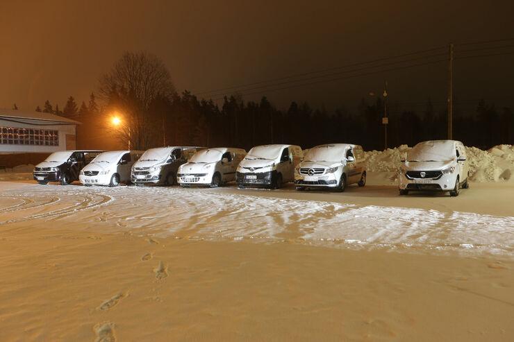 Arctic Van Test