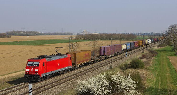 Auf der Rheintalbahn