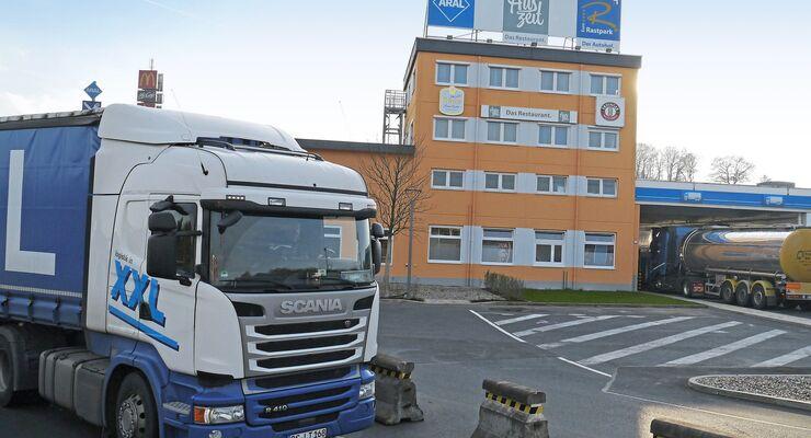 Autohof Guxhagen, Truckstop FF 2/2018.
