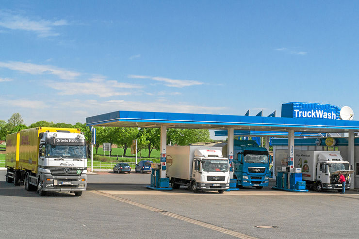Autohof Uelzen, Truckwash
