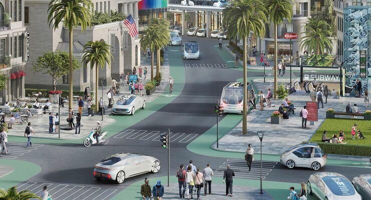Autonomes Fahren bei Bosch und Daimler