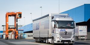 BLG, Lkw, Spedition
