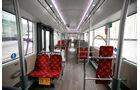 BRT-System Urevo, Fahrzeuge, Sitzplätze