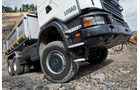 Baufahrzeuge von Scania, massive Brustpanzer