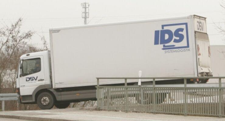 Bei IDS Logistik geht es wieder bergauf