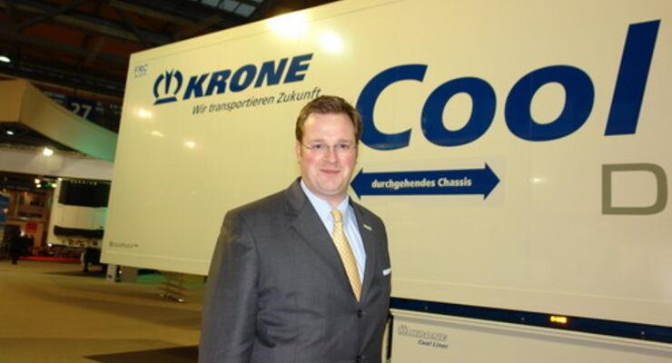 Bernard Krone vor Krone Cool Liner