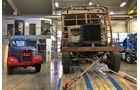 Bestimmungsort: Im Ausstellungsraum bei Stegmaier Nutzfahrzeuge wird der Restaurationsfall neben seinem Nachfolger MK 25 kurzzeitig zum Blickfang.