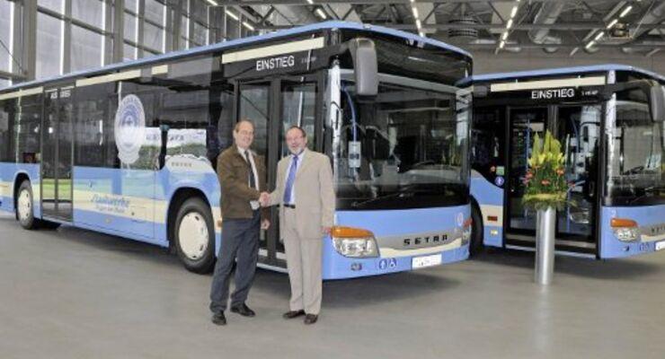 Blauer Engel für Omnibusse von Setra