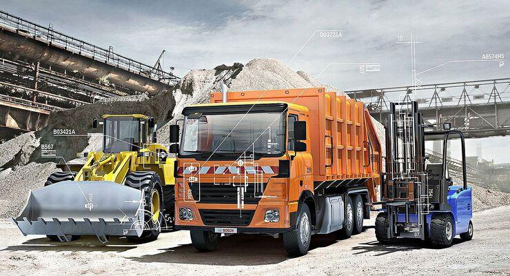 Bosch-Teile für Nutzfahrzeuge