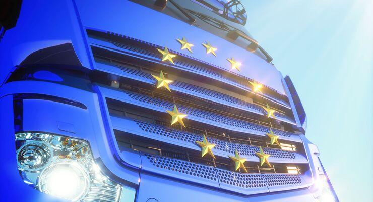 Brüssel regelt den LKw-Verkehr