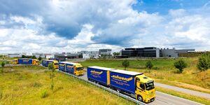 CO2-neutrale Lkw-Transporte bei Schuon