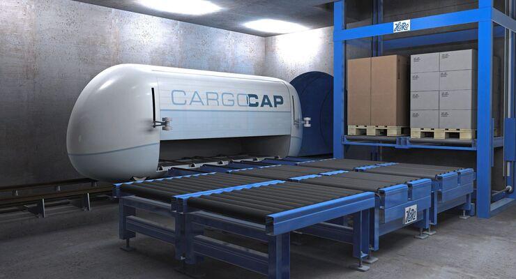 Cargo Sous Terrain, CST, Cargo Cap Tunnelsystem, Simulation, Studie, 3-D-Simulation, Anlieferung
