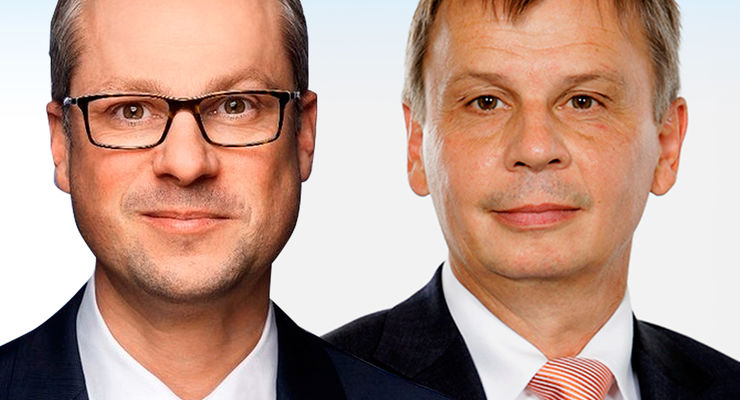 Carsten Schopf und Michael Borner (re.).