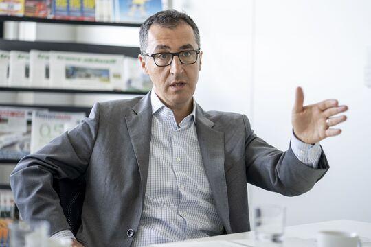 Cem Özdemir, Interview, Verkehrspolitik, Verkehr, Schiene, Grüne