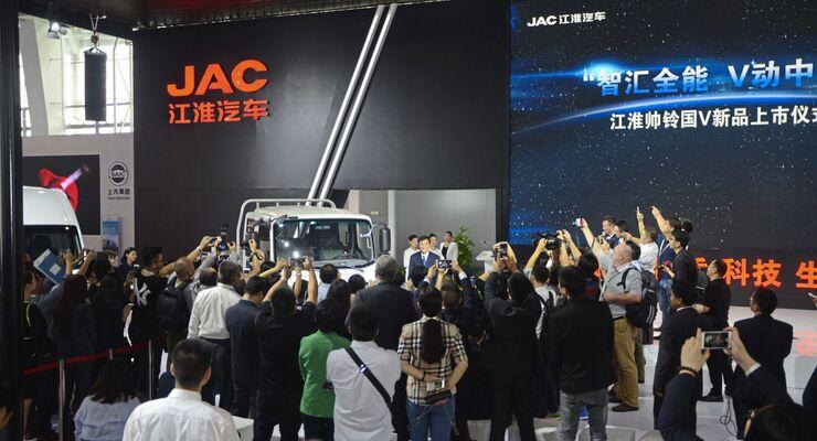China Messe Genlyon Jinlomg AC Bua Chinese Truck Year Ctoy CN Boss Vollelektrobus hino Chana