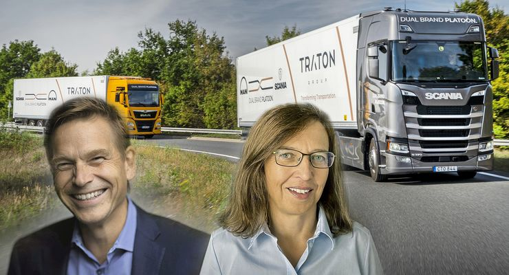 Christian Levin wird Chef und Annette Danielski CFO bei Traton