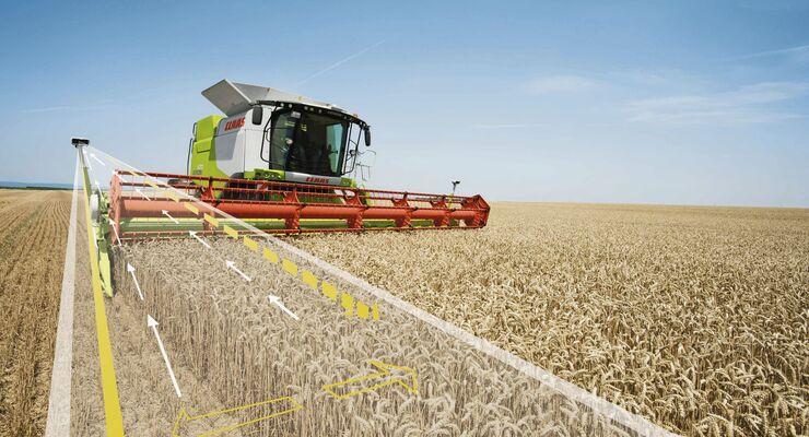 Claas Landmaschine automatisiert