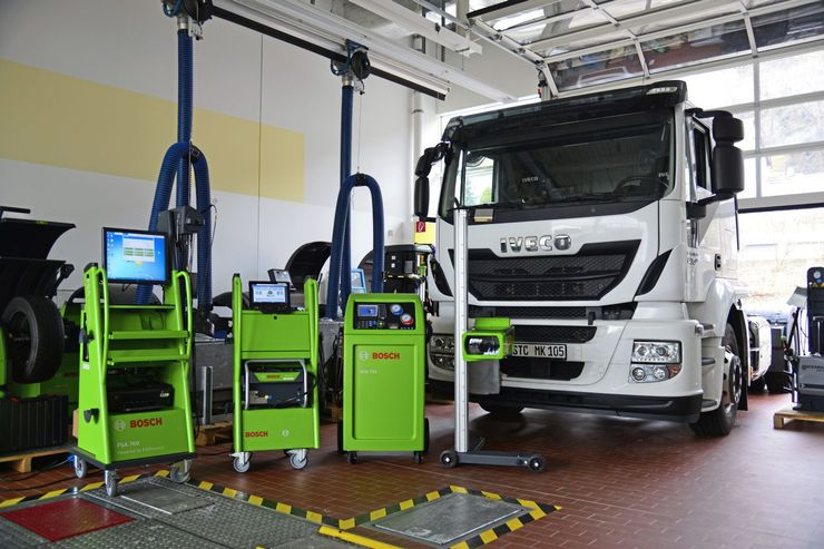 Connected Services Bosch Werkstatt Service