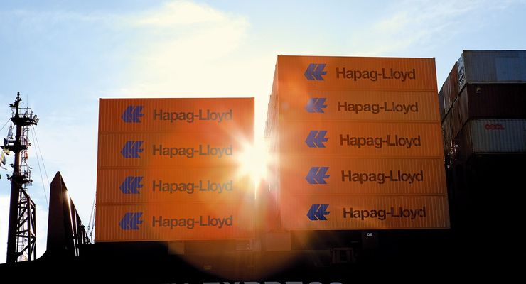 Containerschiff Hapag-Lloyd