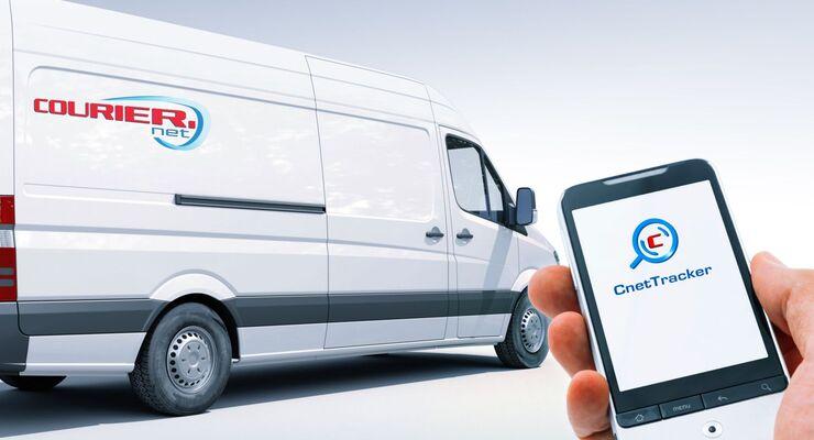 Couriernet, Transporter, smartphone