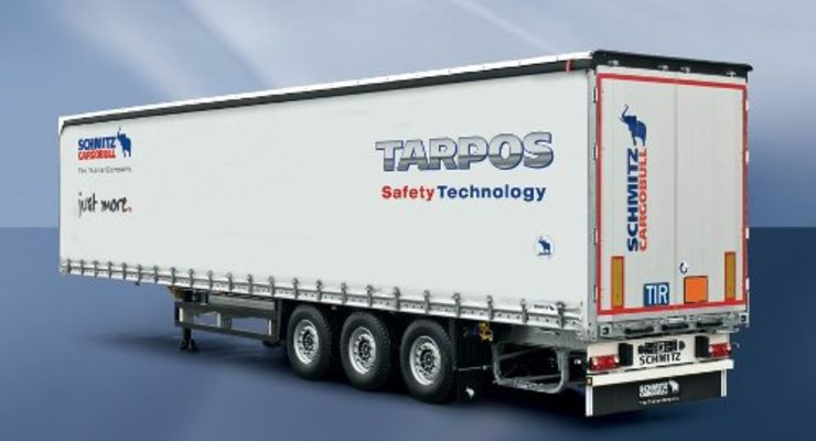 Curtainsider für europäische Stückguttransporte