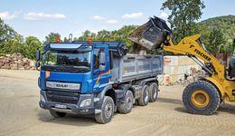 DAF CF 450 FAD Construction 8x4 Kipper Lkw 2019