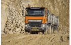 DAF XF 460 Kipper orange Vergleich Test