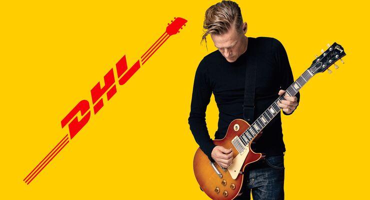 """DHL begleitet Bryan Adams auf seiner """"Shine a Light""""-Tournee."""
