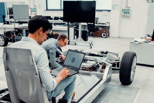 DPD, Sensorik, Steuerungstechnik, Basisaufbau, autonom, Elektrofahrzeug