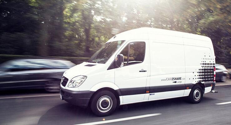 Daimler AG / Car2Share Cargo