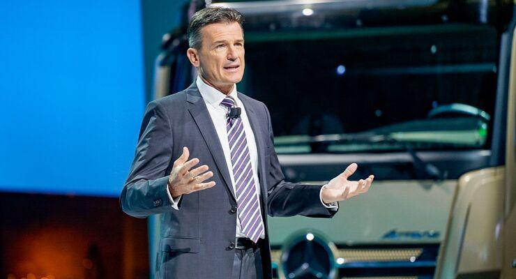 Daimler-Benz Pressekonferenz Wolfgang Bernhard