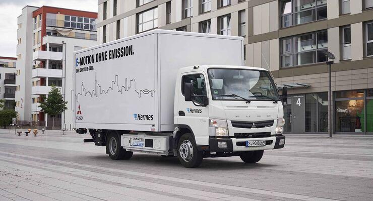 Daimler E-Canter