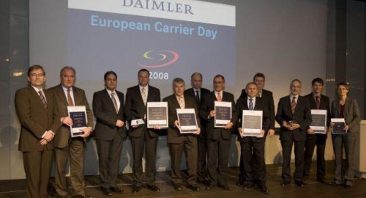 Daimler zeichnet Logistiker aus